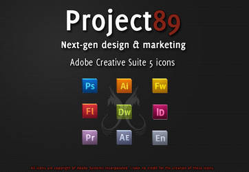 ::Adobe CS5 Icons by Project89 by Project89Designs