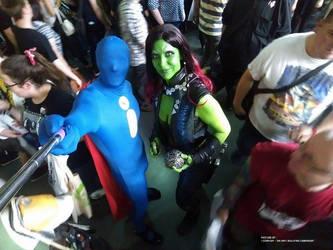 Guardians of the Galaxy - Gamora Cosplay by Lythara