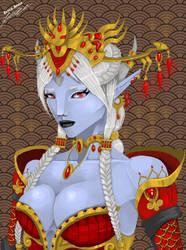 Empress Lessia Starlight Laran (Concept) by EAJ-Transformers