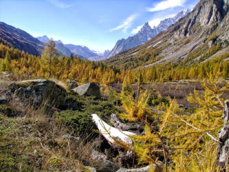 October in  the Italian Alps by MrTinyx