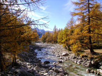 October in the Italian Alps VI by MrTinyx