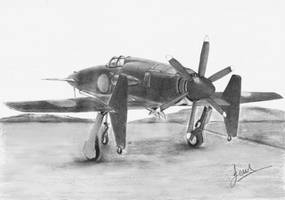 Shinden (Magnificent Lightning) by p40kittyhawk