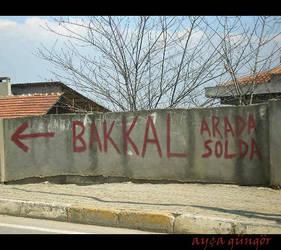 Bakkal arada solda by gungorayca