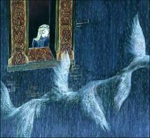 let sleeping swans fly by barbarasobczynska