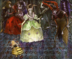 The Luna Moth Princess Ball by barbarasobczynska