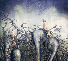 Elephants, Walls and Fences by barbarasobczynska