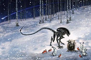 Nativity of the Alien by barbarasobczynska