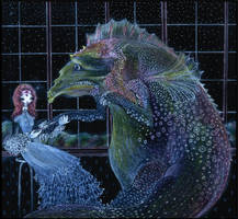 a dragon afraid of injections by barbarasobczynska