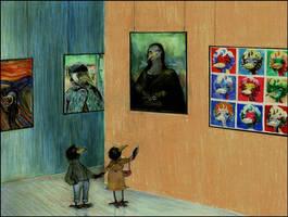 visiting ravens' museum by barbarasobczynska