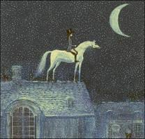 we are nighttime travellers by barbarasobczynska