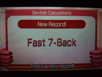 Devilish calculations Fast 7 Record by Keyotea