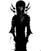 Black and White: Upsilon - Yardenah V2 by Chaosffs