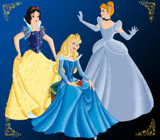 DISNEY PRINCESS version 2 by FERNL