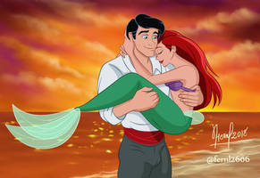 ARIEL AND ERIC VERSION I by FERNL