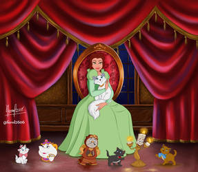 BELLE AND HER NEW FRIENDS by FERNL