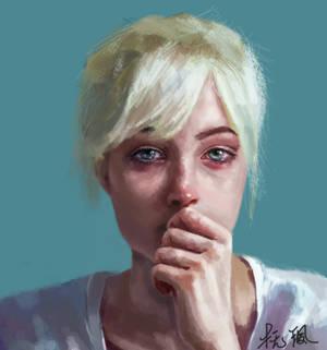 sadness by Iamorangejuice