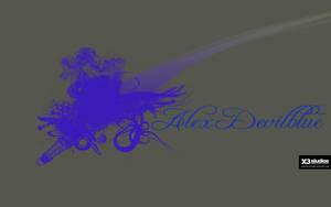 alex_devilblue_wallpaper by MariuszMz
