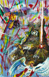 contest entry:  Danger Room by PrehistoricGiraffe