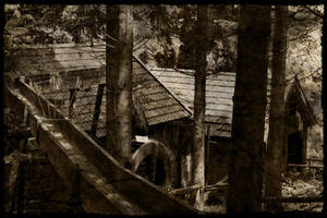 Old Wood Mill by Mantis-nk