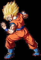 Goku Ssj2 by Koku78