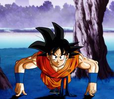 Goku- Training by Koku78