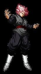 Black Goku Rose V2 by Koku78