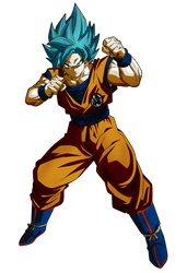Goku Blue US by Koku78