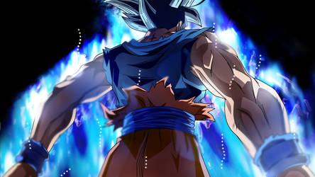 A Monster Reborns, Goku Ultra Instict by Koku78