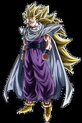 Great Warrior, Great Potential. Gohan SSJ3 by Koku78