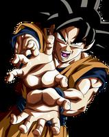 A Power Out of Limit. Goku Ultra Instict by Koku78