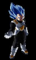 Determined to Evolve. Vegeta SSJ Blue (DBH) by Koku78