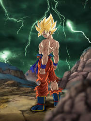 I'm a Saiyan Sent From Earth to Defeat You. by Koku78