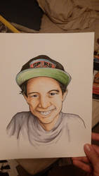 Illustration of kid by CJJennings