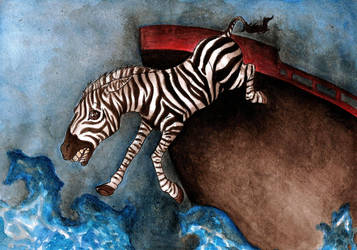 The Life of Pi Zebra by Fritman