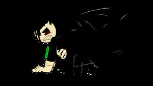 The Devil rises (BatIM Fanart) by dancingkinfiend