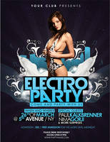 Electro Party Flyer by outlawv15