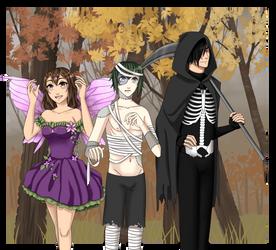 Team Ryota Halloween 2018 by AngelaLovell