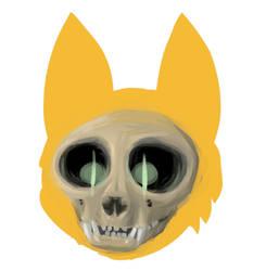 Skeltal Cat by Nox-id