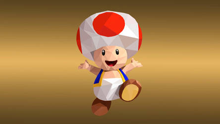 Toad Low Poly Art by giftmones