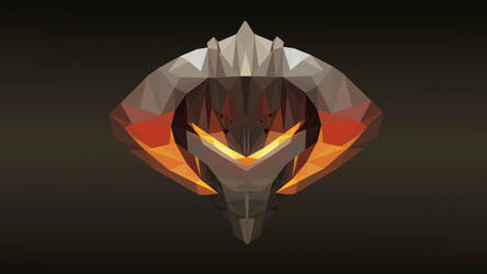 Chaos Knight Dota 2 Low Poly Art by giftmones