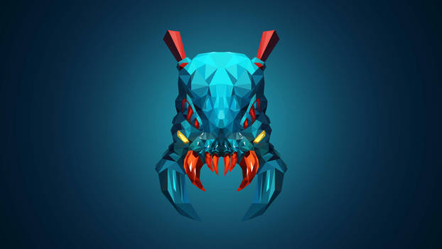 Weaver Dota 2 Low Poly Art by giftmones