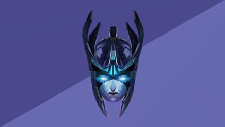 Phantom-Assassin Dota 2 Low Poly Art by giftmones