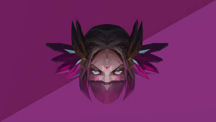 Templar Assassin Dota 2 Low Poly Art by giftmones