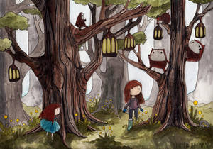 Exploring by ImaginaryLea