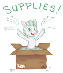 Packing Peanuts by gracewolf