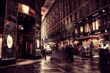 Winter in Vienna XXX by Michela-Riva