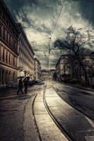 Winter In Vienna XXXIV by Michela-Riva