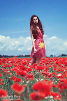 Into the Wild Red 9 by Michela-Riva