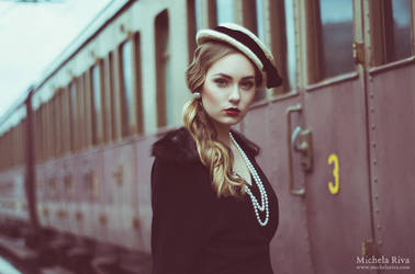 Young and Beautiful VII by Michela-Riva