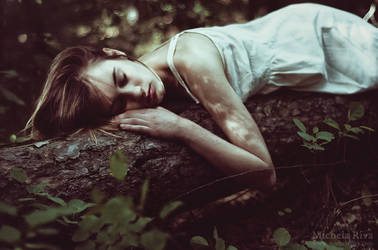 Michelle in the Woods II by Michela-Riva